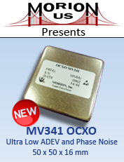 MV341 Controlled Crystal Oscillators